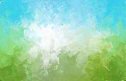 Creative abstract nature skies concept background graphic Stock Image
