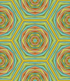 Creative abstract pattern Royalty Free Stock Photos