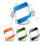 Creative, Abstract Standard Size Web Banner or headers for Ads Stock Image