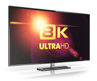 8K UltraHD TV Stock Images