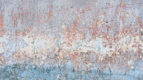 Free Creative Abstract Texture Background. Beautiful Turquoise, Orange And Grey Grunge Rough Artistic Old Stone Wall Royalty Free Stock Image - 179741026