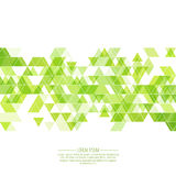 Creative abstract triangle pattern Stock Photo