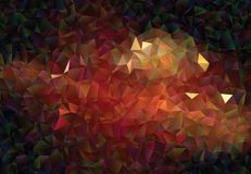 Graphic resource  for your artworks. Creative  abstract background.  Design with triangles. Polygonal vector clip art. Creative abstract vector colorful Royalty Free Stock Photography