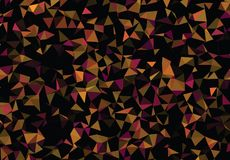 Graphic resource  for your artworks. Creative  abstract background.  Design with triangles. Polygonal vector clip art. Creative abstract vector colorful Royalty Free Stock Image