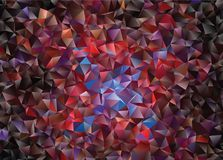 Graphic resource  for your artworks. Creative  abstract background.  Design with triangles. Polygonal vector clip art. Creative abstract vector colorful Royalty Free Stock Images
