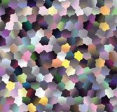 Pattern with colorful background. Geometric  halftone style. Vector clip art. Creative abstract vector colorful illustration  with an elegant design.The best Royalty Free Stock Photo