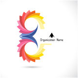 Creative abstract vector logo design template. Corporate busines Royalty Free Stock Photography