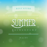 Creative abstract vector natural background Stock Image