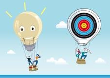Creative Air Balloon Stock Photos