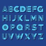 Creative Alphabet Set Royalty Free Stock Photos