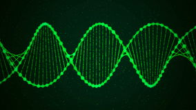 Creative animation of DNA UHD with alpha stock footage