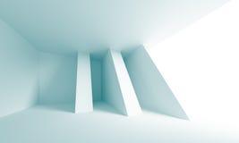 Creative Architectural Design. 3d Illustration of Blue Creative Architectural Design Stock Illustration