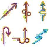 Creative arrow Royalty Free Stock Photography