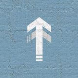 Creative arrow Stock Photo