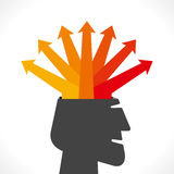 Creative arrow info-graphics Stock Photos