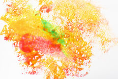 Creative art, abstractionism. Festival holi colors Stock Photo