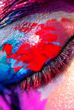 Creative art makeup Stock Photography