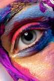 Creative art makeup Stock Images