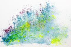 Creative art, paint. Microscopy analysis, bacteria Royalty Free Stock Photos