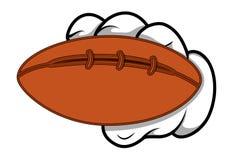 Cartoon Hand - Holding Ball - Vector Illustration Royalty Free Stock Photo