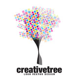 Creative Artistic Tree Logo Design Stock Photos