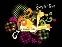 Creative artwork background Royalty Free Stock Image