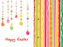 Creative artwork background for easter day Stock Photos