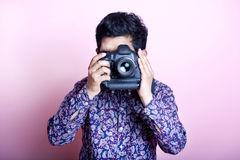 Creative Asian Photographer stock photos