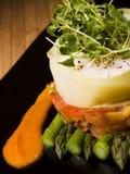 Creative asparagus and vegetable A Royalty Free Stock Photos