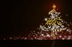 Creative background. Creative exclusive new year  & Christmas background Royalty Free Stock Image