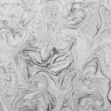 Creative background with abstract acrylic painted waves. Beautiful marble texture. Stock Photos