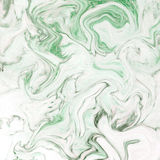 Creative background with abstract acrylic painted waves. Beautiful marble texture. Stock Photography