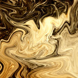 Creative background with abstract acrylic painted waves. Royalty Free Stock Photography
