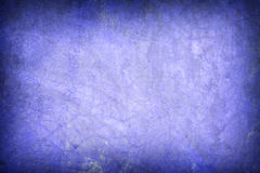 Creative background - Blue Grunge wallpaper with space for your Royalty Free Stock Image