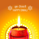 Creative background of diwali vector illustration