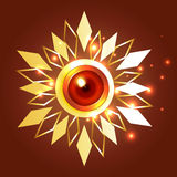 Creative background of diwali royalty free illustration