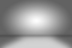 Creative background. empty gray room Royalty Free Stock Photography
