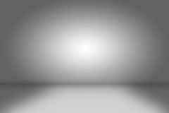 Creative background. empty gray room Stock Photo