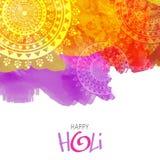 Creative background for Holi Festival celebration. Stock Photography