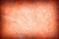 Creative background - orange grunge wallpaper Stock Photo