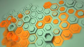Creative background of rhombic tiles Royalty Free Stock Photos
