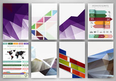 Creative backgrounds and abstract concept vector icons Stock Images
