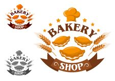 Creative bakery shop Stock Images