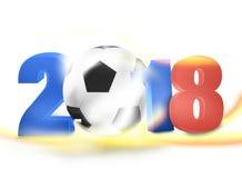 2018 Creative Ball Light Design. Creative Illustration Colored Image Royalty Free Stock Photos