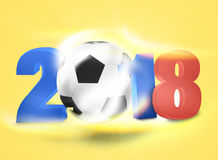 2018 Creative Ball Light Design. Creative Illustration Colored Image Royalty Free Stock Photography