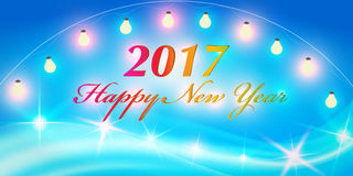 Creative banner design. Christmas party and new year event Stock Photo