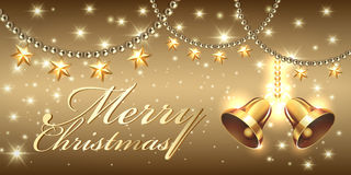 Creative banner design. Christmas party and new year event Royalty Free Stock Photo