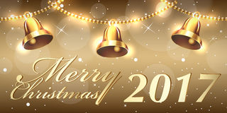 Creative banner design. Christmas party and new year event Royalty Free Stock Photography