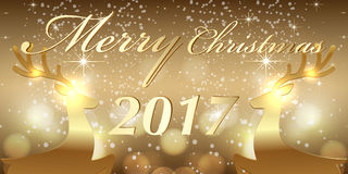 Creative banner design. Christmas party and new year event Stock Images