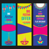 Creative big festive sale design. Creative big festive banner design ,diwali festival offer Stock Photos